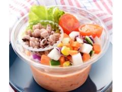 ローソン トマトと雑穀の冷製スープ
