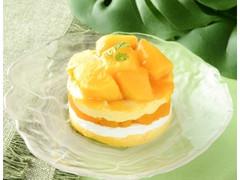 ローソン マンゴーのショートケーキ