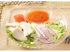 ローソン 1食分の野菜が摂れる蒸し鶏の冷製パスタ