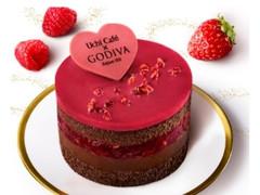 ローソン Uchi Cafe' SWEETS×GODIVA ショコラケーキラズベリー
