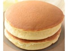 ローソン ふわふわホットケーキ メープル&発酵バター入りマーガリン 2個入