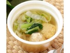 ローソン 鶏団子と野菜の和風スープ