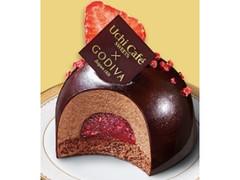 ローソン Uchi Cafe' SWEETS×GODIVA ショコラドームストロベリー