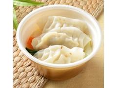 ローソン 6品目の餃子スープ
