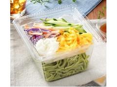 ローソン とろろ芋と野菜のほうれんそう麺サラダ