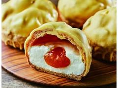 ローソン Uchi Cafe' SWEETS×PABLO チーズシュー アプリコットソース使用