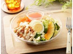 ローソン 1食分のプロテインサラダ(人参ドレッシング)