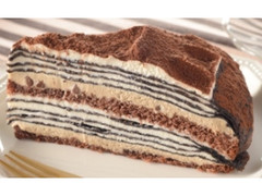 ローソン ティラミスミルクレープ チョコチップ入り