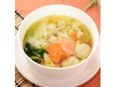ローソン 九州産いわしとあじのつみれのスープ
