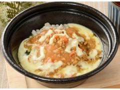ローソン 豆腐DELI 肉味噌チーズ もち麦入