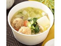 ローソン あご出汁香る鶏団子の和風スープ