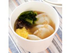 ローソン つるもち餃子 鶏油香る中華スープ