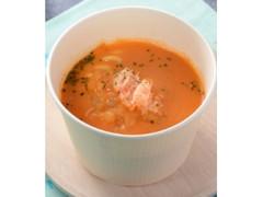 ローソン もっちりパスタ 魚介のトマトクリームスープ
