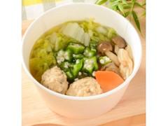 ローソン 柚子胡椒香る鶏団子スープ