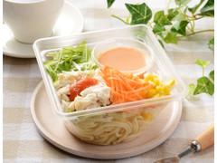 ローソン 肉増量 蒸し鶏のパスタサラダ 明太ドレ