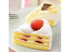 ローソン Uchi Cafe' SWEETS 苺ショート&ダブルチーズケーキ