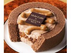 ローソン Uchi Cafe' SWEETS Uchi Cafe' SWEETS×GODIVA キャラメルショコラロールケーキ