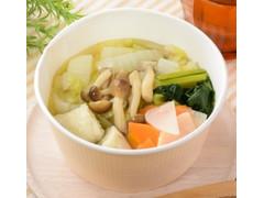 ローソン 1/2日分の野菜!つみれスープ 白身魚