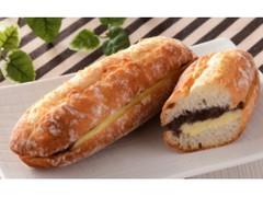 ローソン マチノパン あんことバターのフランスパン