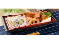 ローソン さば竜田と野菜の黒酢あん&雑穀ご飯