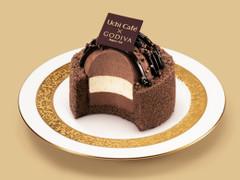 ローソン Uchi Cafe' SWEETS ×GODIVA ショコラドーム ヴァニーユ
