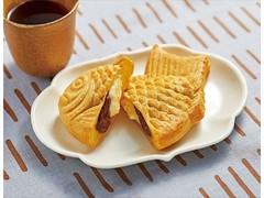 ローソン Uchi Cafe' SWEETS ×八天堂 かすたーどチョコたい焼き