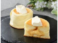 ローソン Uchi Cafe' SWEETS Specialite 3種のバター華ふわケーキ 焦がしバターソース入り