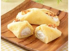 ローソン Uchi Cafe' SWEETS クルリン ザクふわくるりんケーキ チーズ