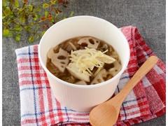 ローソン ザクザク根菜の和風生姜スープ
