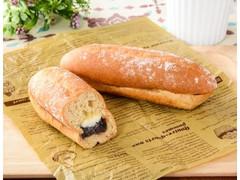 ローソン NL もち麦のあんフランスパン発酵バター入りマーガリン使用