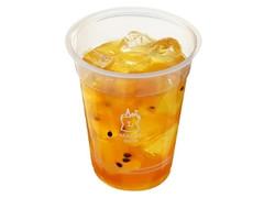 ローソン MACHI cafe' 台湾アイスティー パッションフルーツ 四季春茶