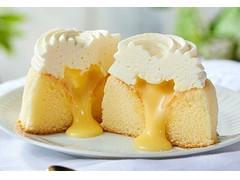 ローソン Uchi Cafe' Specialite ミルクバター露ふわケーキ ミルクバターソース入り