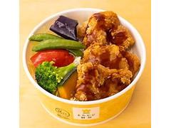 ローソン まちかど厨房 揚げ鶏と南蛮ソース弁当~5種野菜の彩り~