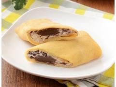 ローソン Uchi Cafe' もっちりクレープ生チョコ&チョコチップ