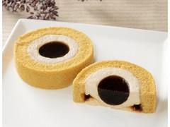 ローソン Uchi Cafe' 黒糖ロールケーキ 沖縄県産黒糖の黒蜜使用