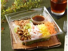 ローソン 納豆のNEBANEBA抹茶麺サラダ