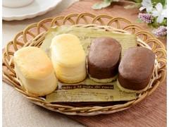 ローソン Uchi Cafe' プチスフレ チーズ&チョコチーズ