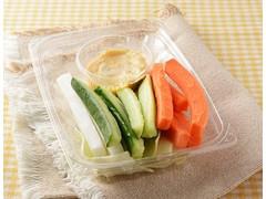 ローソン 野菜増量ピリ辛味噌マヨで食べる野菜スティック