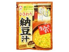 旭松 生みそずい ひきわり納豆汁