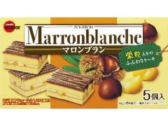 ブルボン マロンブラン 箱5個