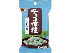 ブルボン チョコ柿種 ミント味 袋38g
