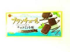 ブルボン ブランチュール ミニチョコレート チョコミント味 箱12個