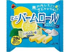 ブルボン ミニバームロール塩レモンクリーム