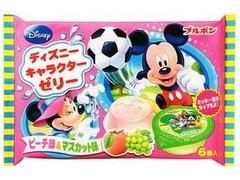 ブルボン ディズニーキャラクターゼリー FS ピーチ味&マスカット味 袋60g×6