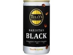 タリーズコーヒー バリスタズ ブラック 缶185g