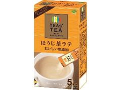 伊藤園 TEAs' TEA NEW AUTHENTIC おいしい無添加 ほうじ茶ラテ 箱13.5×5