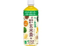 伊藤園 お~いお茶 日本の健康 玄米茶W ペット600ml