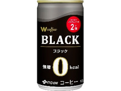 伊藤園 W coffee BLACK 缶165g