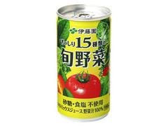 伊藤園 ぎっしり15種類の旬野菜 缶190g