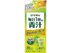 伊藤園 毎日1杯の青汁 さわやかフルーツミックス パック200ml